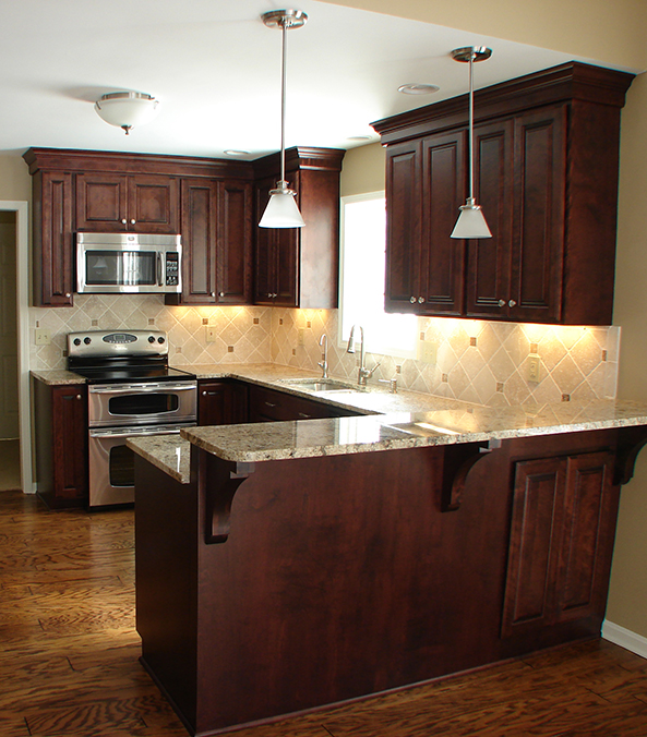 Breakfast Bar, Kitchen Remodel, Kitchen Backsplash