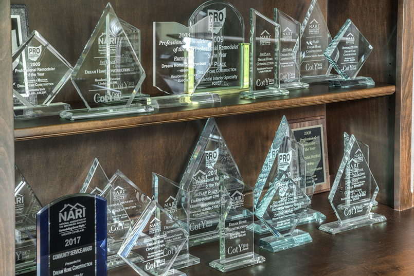 Dream Home Construction Has Won Many Awards for Their Beautiful Remodel Work