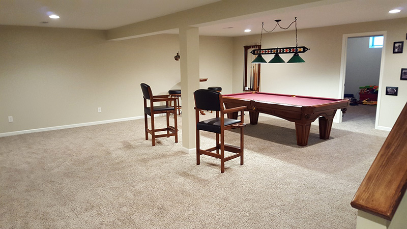 After Basement Remodel, Under 50K