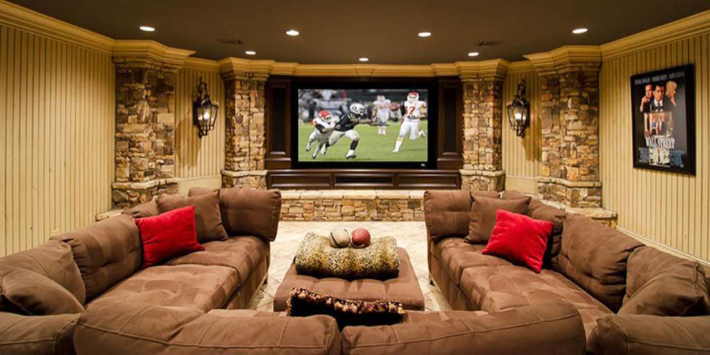 High End Entertainment Room Remodel