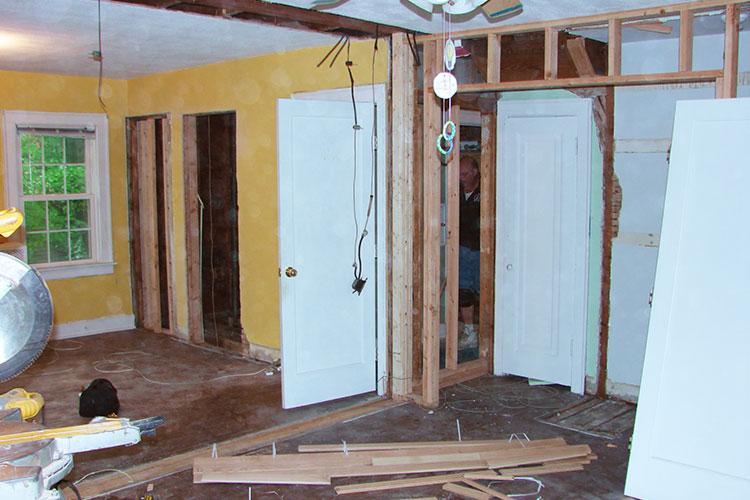 Before Living Room Remodel