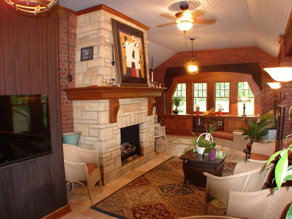 Custom Woodwork, Sun Room Remodel, Call (440)285-8516 for More Information